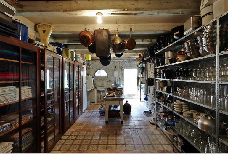 Eindrücke von THiLOs Schreibworkshops in Burgund - die Küche