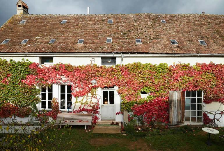 Hof In Burgund für THiLOs Schreibworkshops
