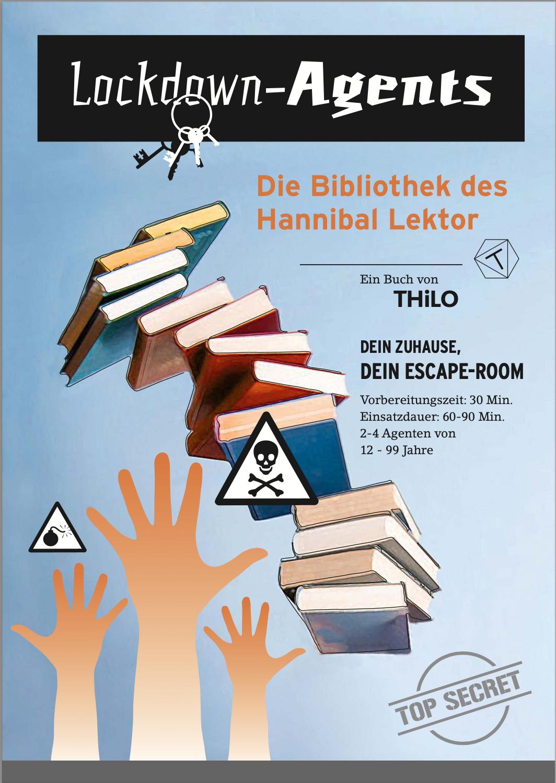 Escape Room zum Ausdrucken Bibliothek ab 12